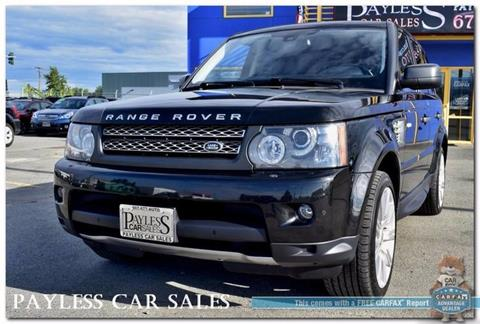 2010 Land Rover Range Rover Sport for sale in Anchorage, AK