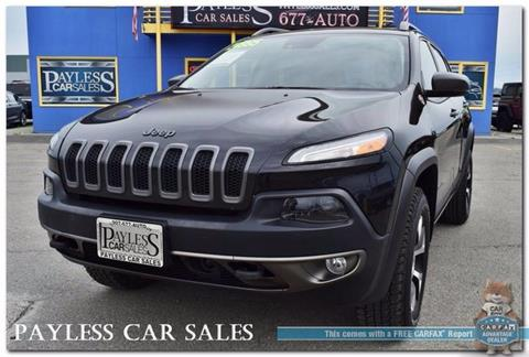 2015 Jeep Cherokee for sale in Anchorage, AK