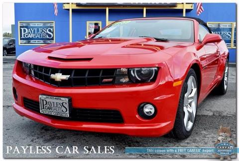 2011 Chevrolet Camaro for sale in Anchorage, AK