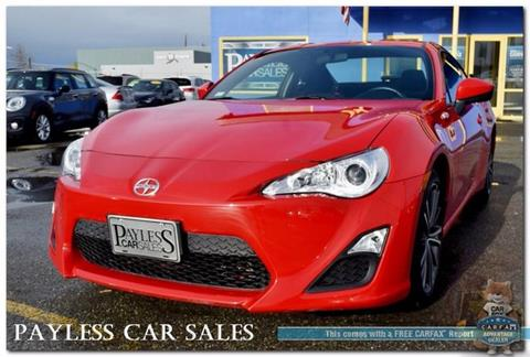 2015 Scion FR-S for sale in Anchorage, AK