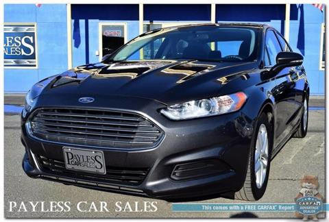 2015 Ford Fusion for sale in Anchorage, AK