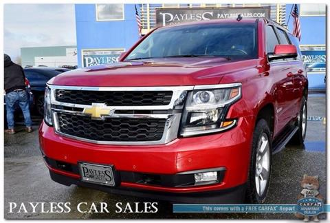 2015 Chevrolet Tahoe for sale in Anchorage, AK