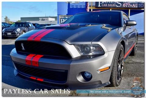 2011 Ford Shelby GT500 for sale in Anchorage, AK