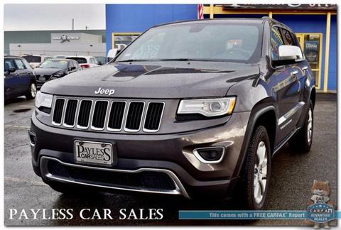 2015 Jeep Grand Cherokee for sale in Anchorage, AK