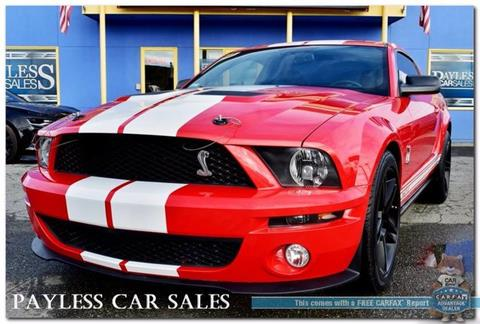 2009 Ford Shelby GT500 for sale in Anchorage, AK