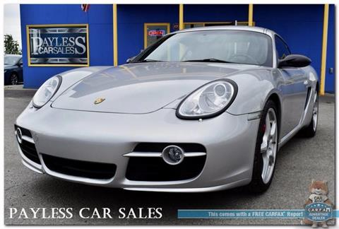 2008 Porsche Cayman for sale in Anchorage, AK