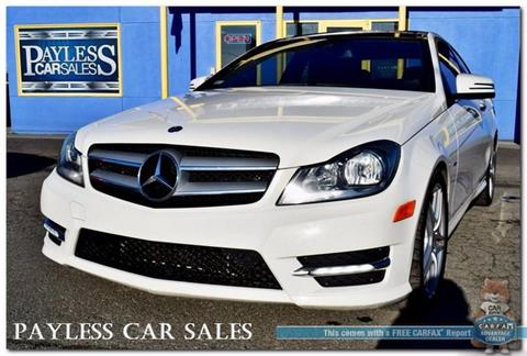2012 Mercedes-Benz C-Class for sale in Anchorage, AK