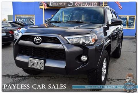 2016 Toyota 4Runner for sale in Anchorage, AK