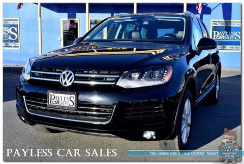 2013 Volkswagen Touareg for sale in Anchorage, AK
