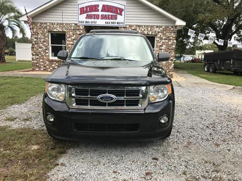 2010 Ford Escape for sale in Conway, SC