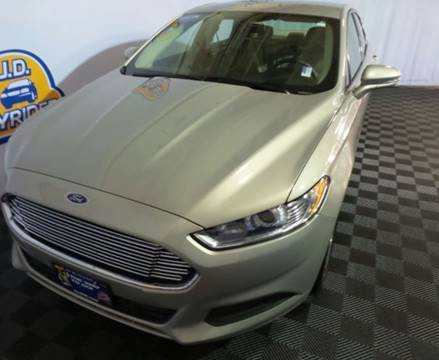 2015 Ford Fusion for sale in Columbus OH