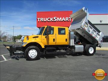 2007 International 7400 Crew Cab 9 Foot Dump for sale in Morrisville, PA