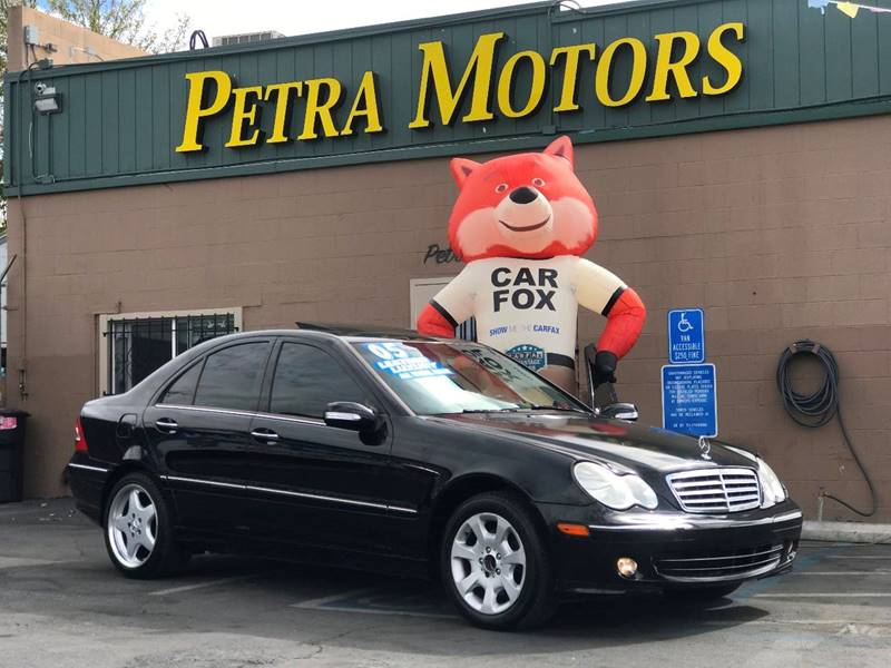 2005 Mercedes Benz C Class For Sale At Petra Motors In Sacramento CA