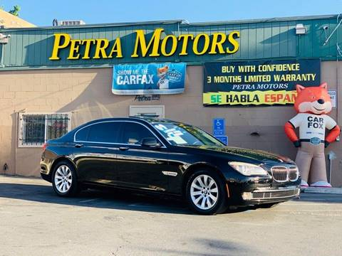 Used 2009 Bmw 7 Series For Sale Carsforsalecom