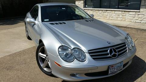 2004 Mercedes-Benz SL-Class for sale at Allison's AutoSales in Plano TX