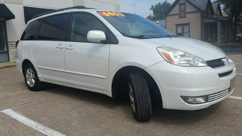 2005 Toyota Sienna For Sale At Allisonu0027s Auto Sales In Plano TX