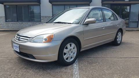 2002 Honda Civic for sale in Plano, TX