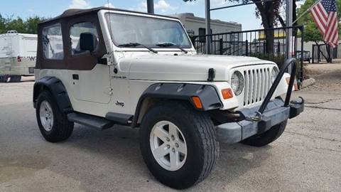 1998 Jeep Wrangler for sale in Plano, TX