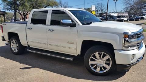 2017 Chevrolet Silverado 1500 High Country for sale at Allison's Auto Sales in Plano TX