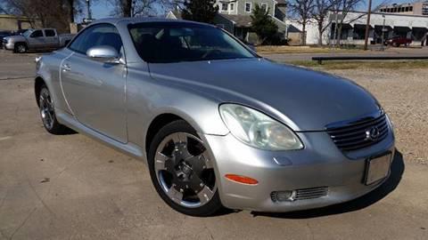 2002 Lexus SC 430 for sale at Allison's Auto Sales in Plano TX