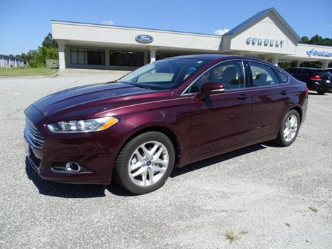 2013 Ford Fusion for sale in Cordele GA