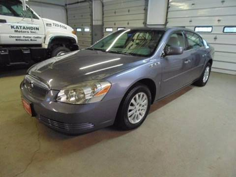 2008 Buick Lucerne for sale at KATAHDIN MOTORS INC /  Chevrolet & Cadillac in Millinocket ME