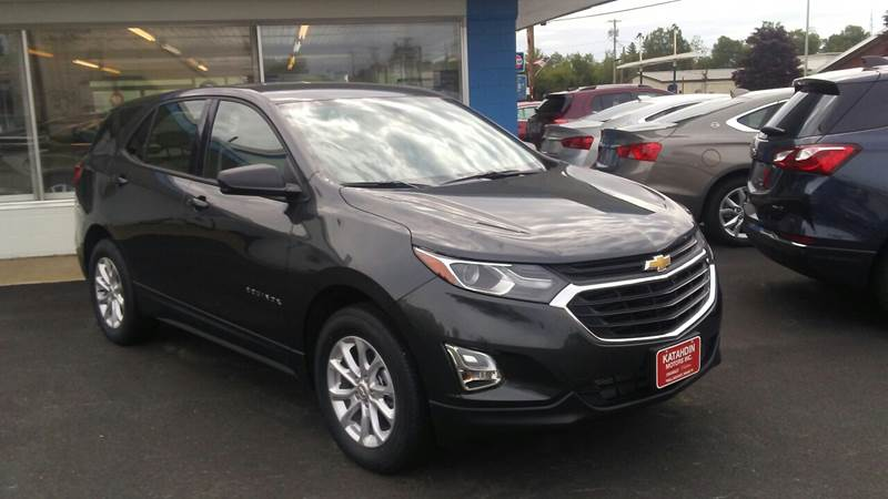 2018 Chevrolet Equinox for sale at KATAHDIN MOTORS INC /  Chevrolet & Cadillac in Millinocket ME