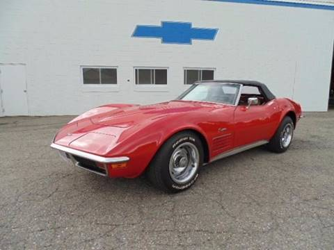 1972 Chevrolet Corvette for sale at KATAHDIN MOTORS INC /  Chevrolet & Cadillac in Millinocket ME