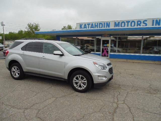 2016 Chevrolet Equinox for sale at KATAHDIN MOTORS INC /  Chevrolet & Cadillac in Millinocket ME