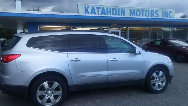 2010 Chevrolet Traverse for sale at KATAHDIN MOTORS INC /  Chevrolet & Cadillac in Millinocket ME