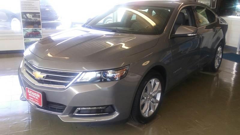 2018 Chevrolet Impala for sale at KATAHDIN MOTORS INC /  Chevrolet & Cadillac in Millinocket ME
