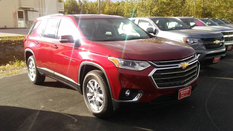 2018 Chevrolet Traverse for sale at KATAHDIN MOTORS INC /  Chevrolet & Cadillac in Millinocket ME
