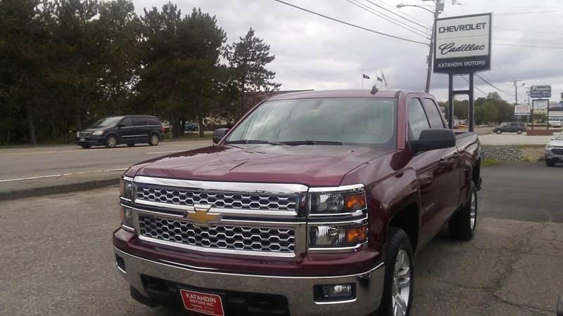 2014 Chevrolet Silverado 1500 for sale at KATAHDIN MOTORS INC /  Chevrolet & Cadillac in Millinocket ME