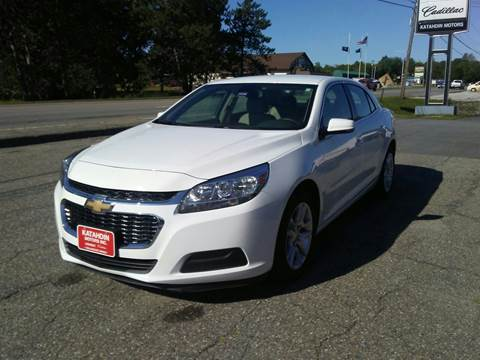 2016 Chevrolet Malibu Limited for sale in Millinocket, ME