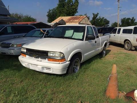 2001 Chevrolet S-10 for sale in Seymour TX