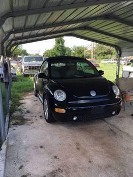 2003 Volkswagen New Beetle for sale in Seymour, TX