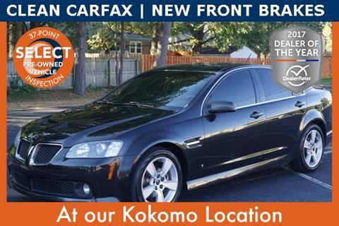 2009 Pontiac G8 for sale in Kokomo, IN