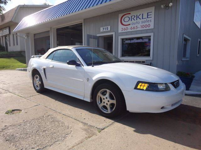 2003 Ford Mustang for sale at Corkle Auto Sales INC in Angola IN