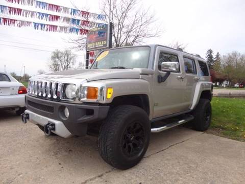 2008 HUMMER H3 for sale at Corkle Auto Sales INC in Angola IN