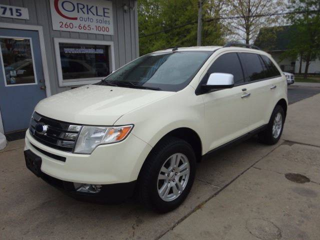 2008 Ford Edge for sale at Corkle Auto Sales INC in Angola IN