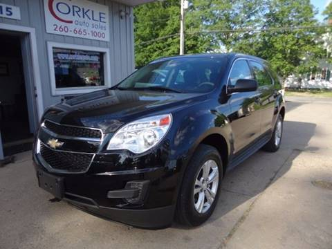 2013 Chevrolet Equinox for sale at Corkle Auto Sales INC in Angola IN
