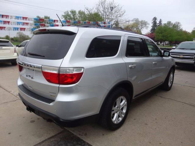 2011 Dodge Durango for sale at Corkle Auto Sales INC in Angola IN