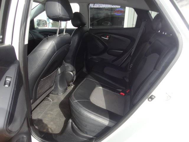 2010 Hyundai Tucson for sale at Corkle Auto Sales INC in Angola IN