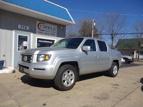 2008 Honda Ridgeline for sale at Corkle Auto Sales INC in Angola IN