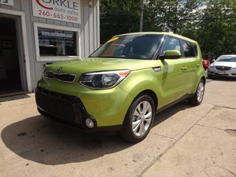 2016 Kia Soul for sale at Corkle Auto Sales INC in Angola IN
