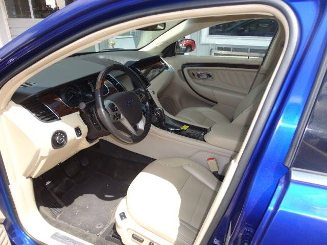 2013 Ford Taurus for sale at Corkle Auto Sales INC in Angola IN