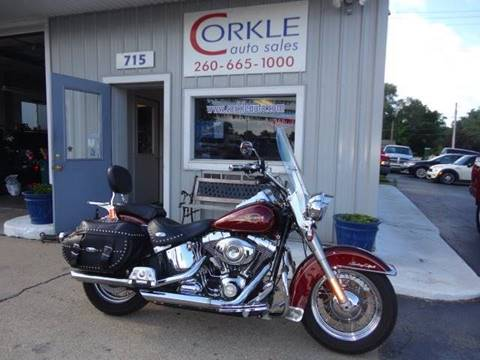 2008 Harley-Davidson Heritage Softail Classic for sale at Corkle Auto Sales INC in Angola IN