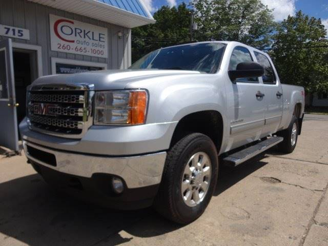 2014 GMC Sierra 2500HD for sale at Corkle Auto Sales INC in Angola IN