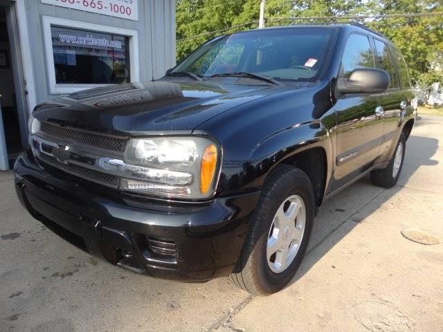 2003 Chevrolet TrailBlazer for sale at Corkle Auto Sales INC in Angola IN