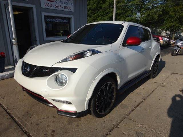 2013 Nissan JUKE for sale at Corkle Auto Sales INC in Angola IN